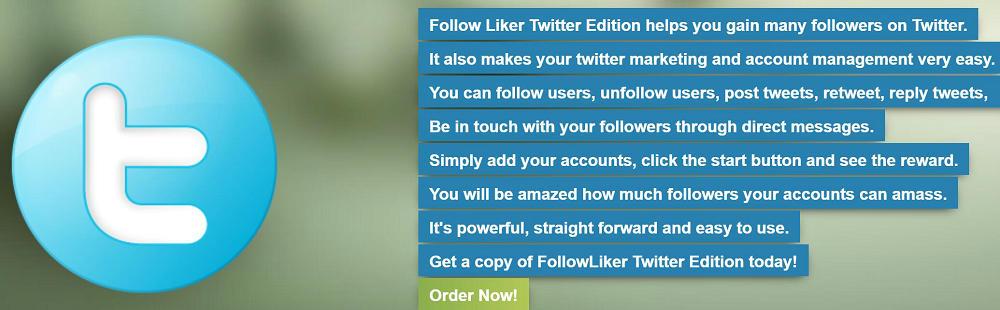 Follow Liker Twitter Edition
