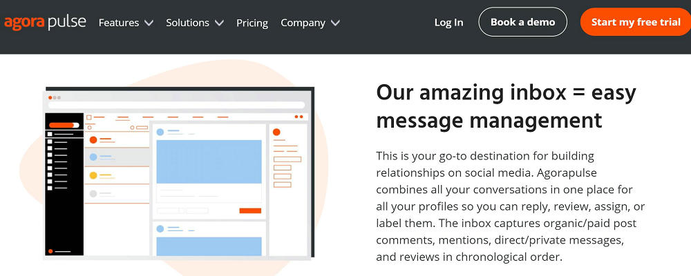 agorapulse for Engaging