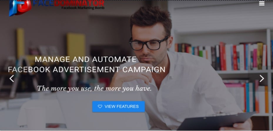 Face Dominator assist in their Facebook social media plans