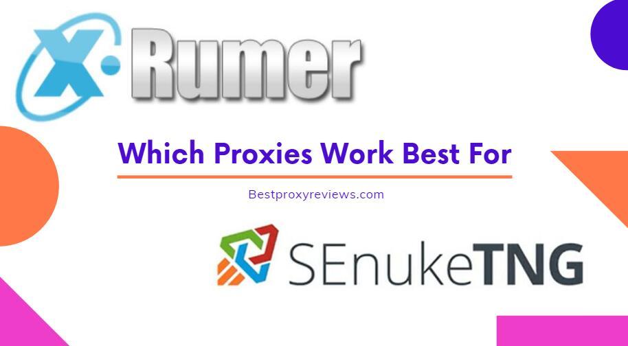 Proxies for SEnuke and Xrumer