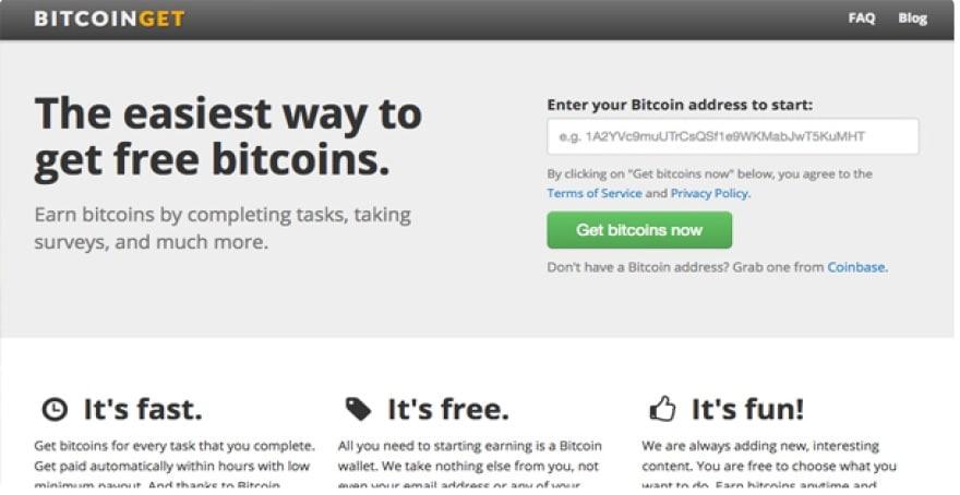Way of Geting Bitcoin