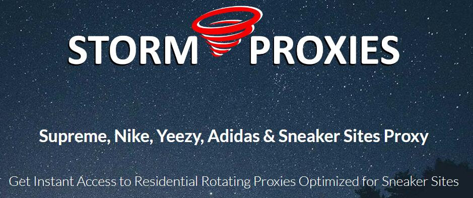 stormproxies for adidas supreme Nike