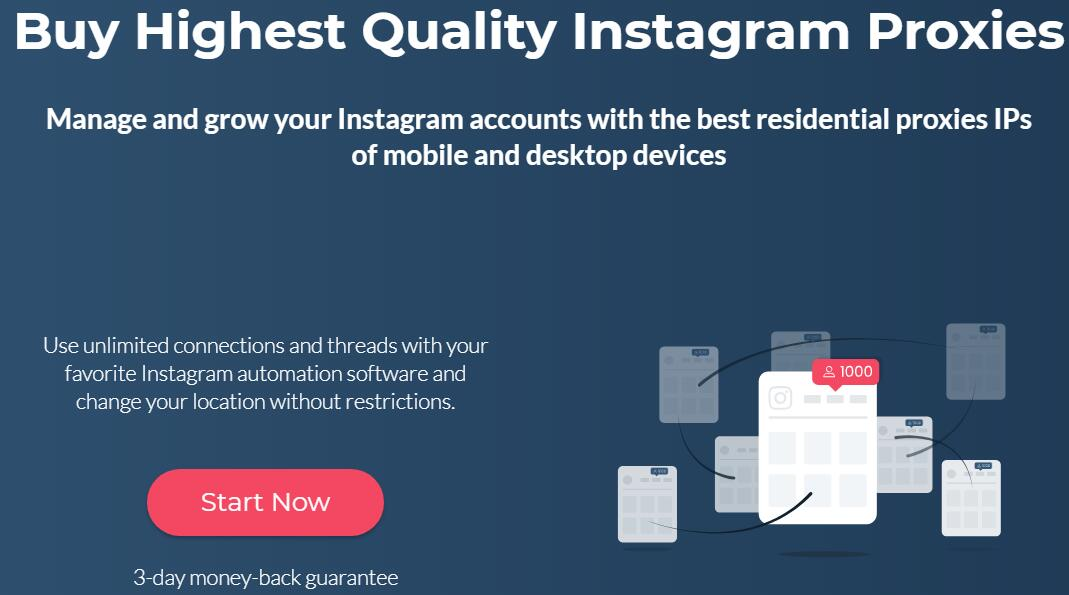 buy Instagram Proxies from smartproxy