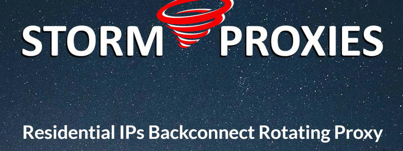 stormproxies Residential IP Proxy