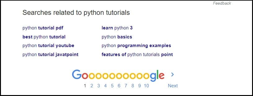 Python Problem Definition