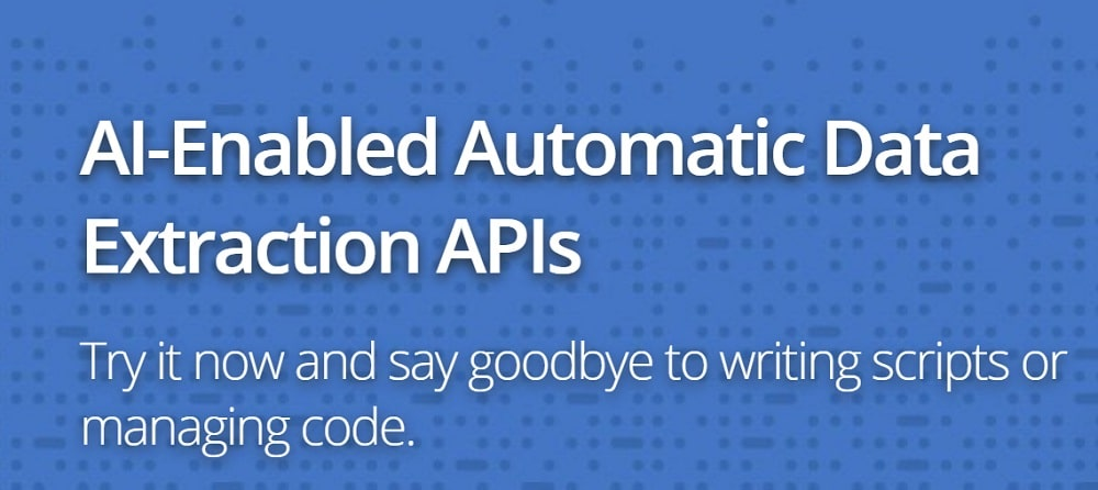 AutoExtract API Overview