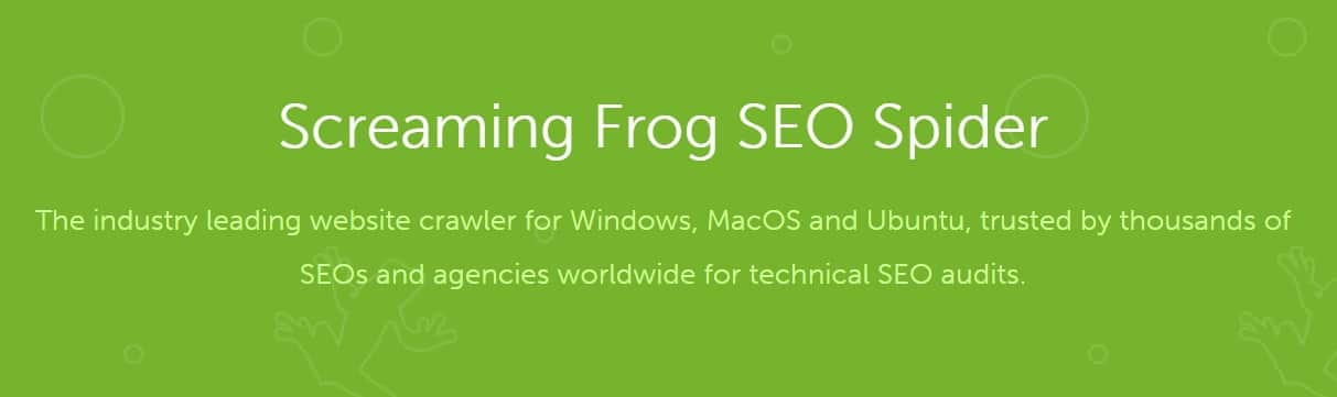 Screamingfrog Overview