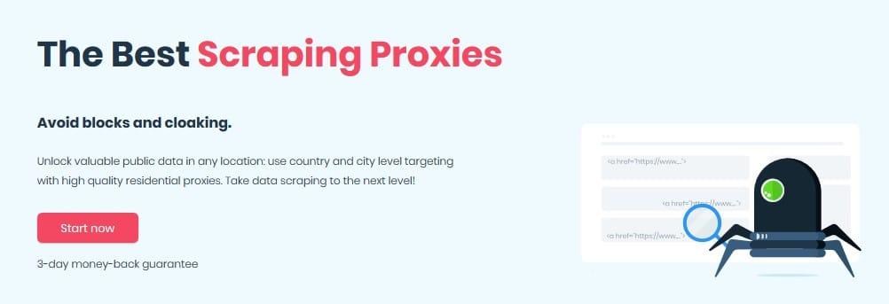 Smartproxy Scraping