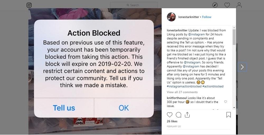Instagram Blocks