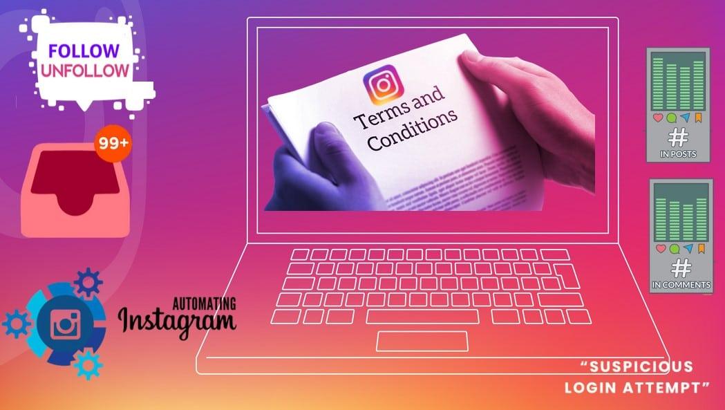 Reason for Block Instagram Accounts