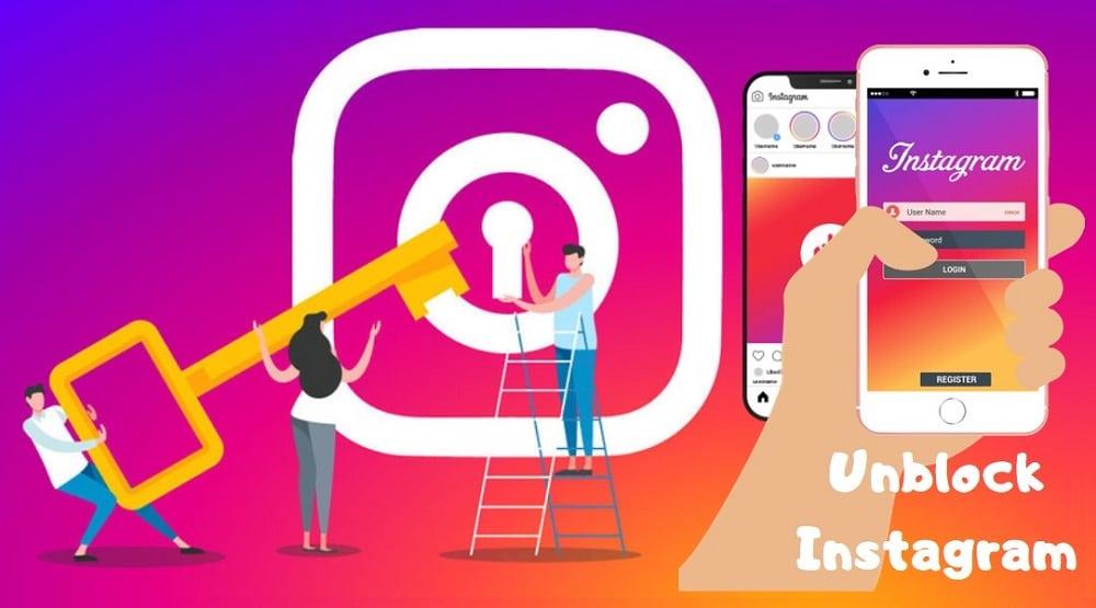 Unblock Instagram