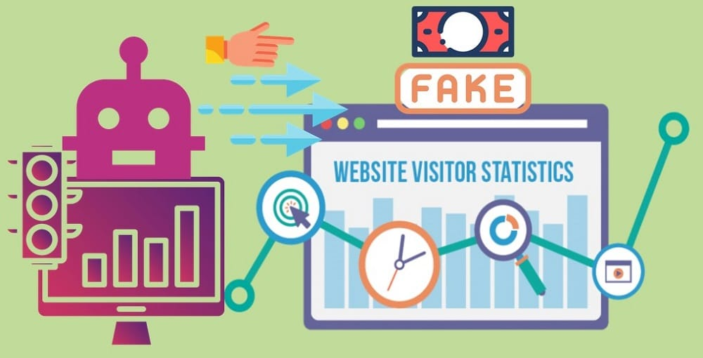 Fake Visitors Statistics