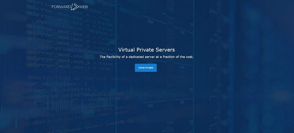 Forward Web vps server
