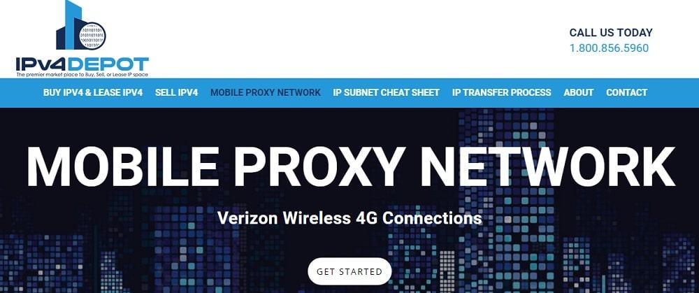 IPv4 Depot mobile proxies