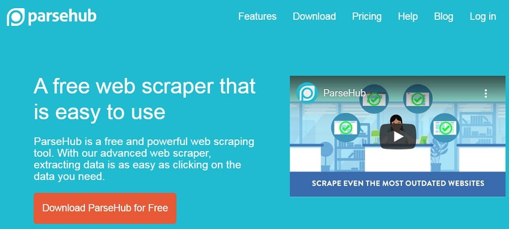 ParseHub Best Scrapers