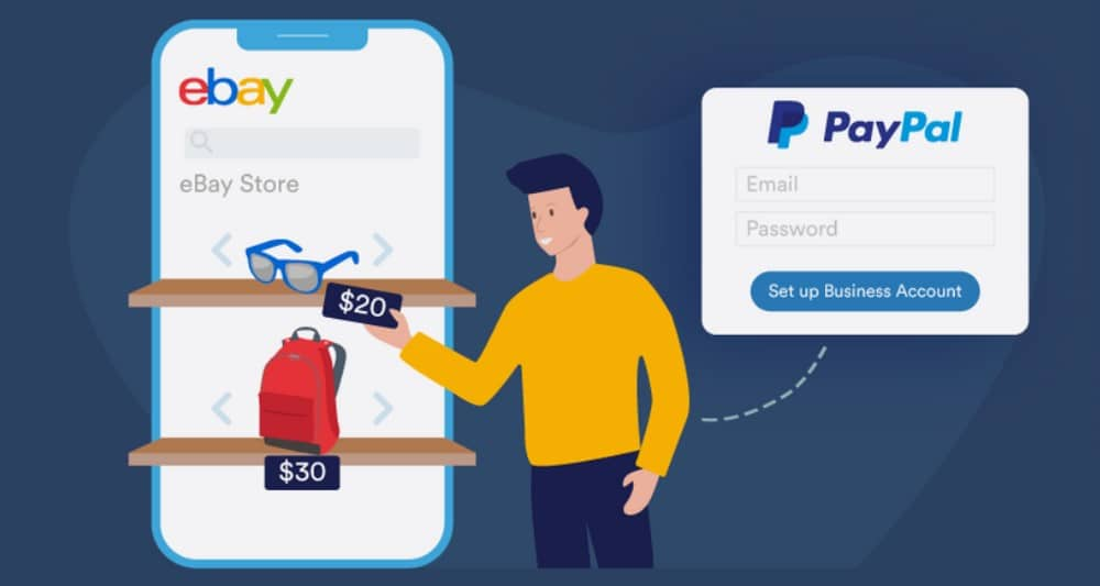 PayPal account for ebay