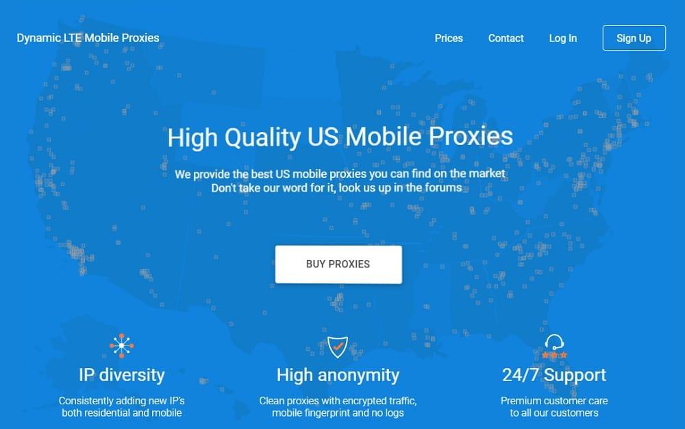 Proxy LTE mobile proxies