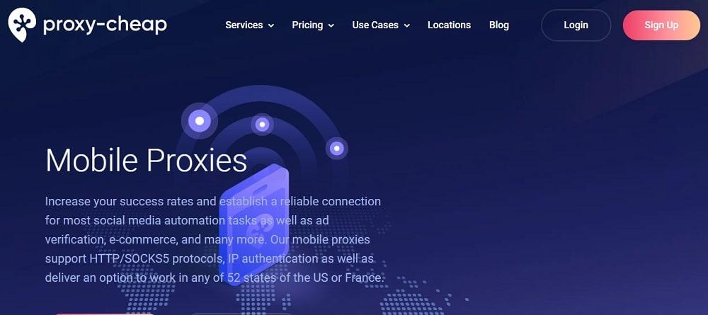 Proxy-cheap mobile proxies