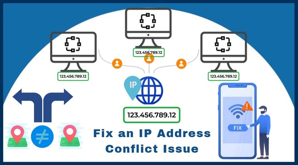 Fix an IP Address Conflict Issue