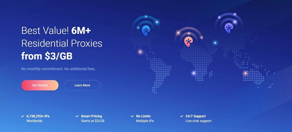 Proxy-cheap residential proxies services