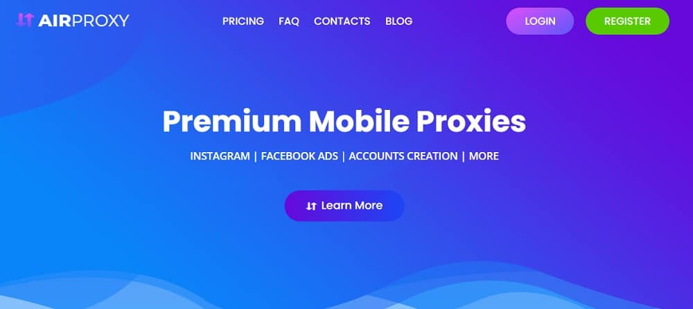 Air Proxy Home Page