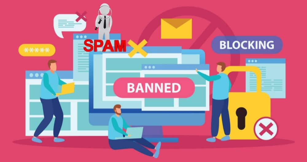 Spam Prevention with ip blocking