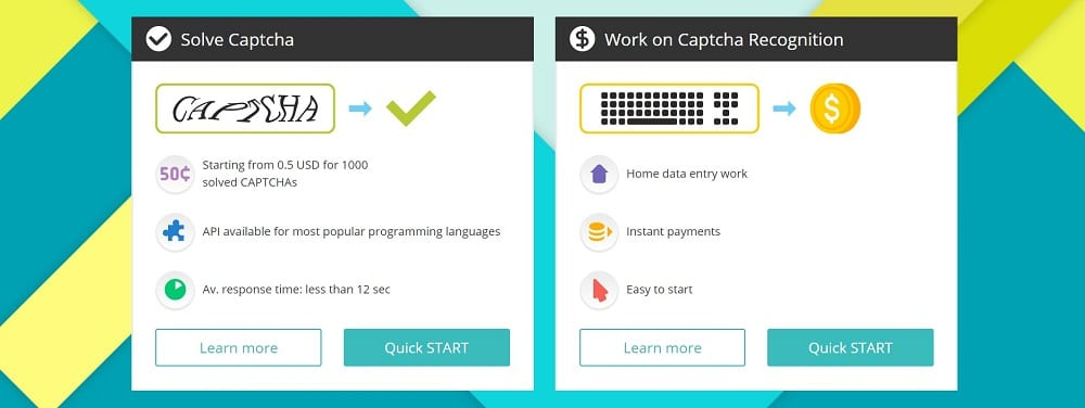 Use Captcha Solving Services