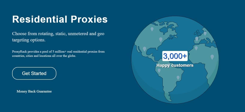 proxyrack network