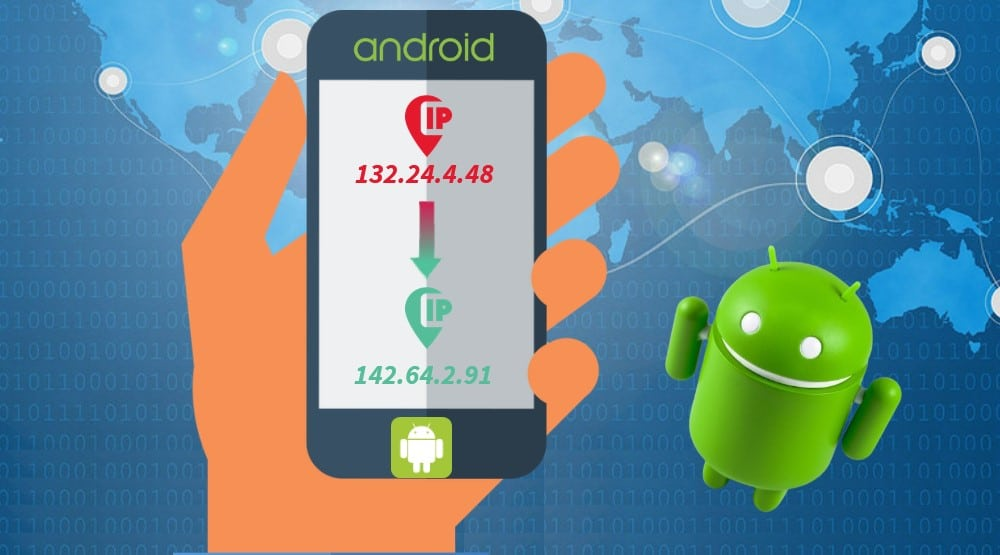 Change IP Address on Android