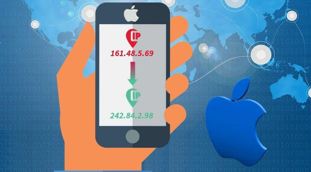 Change IP Address on iPhone
