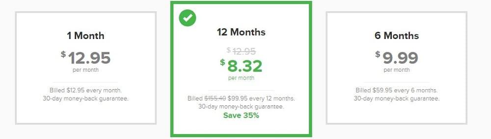 ExpressVPN Price and plan