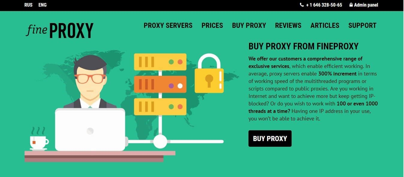Fineproxy Overview