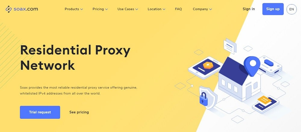 Soax Residential Proxy Overview