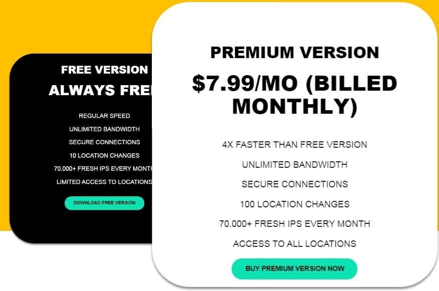 TuxlerVPN Pricing