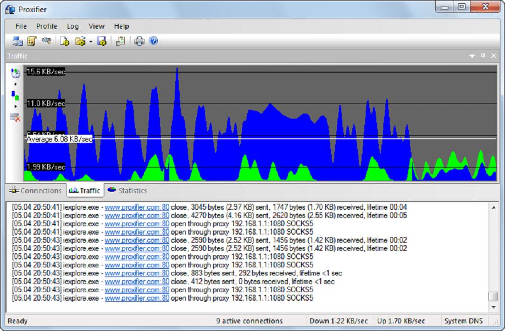 Proxifier software