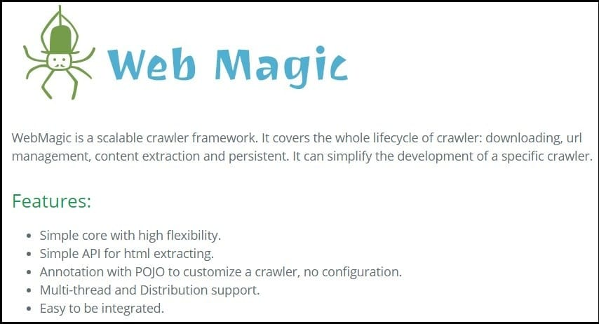 Web Magic Homepage