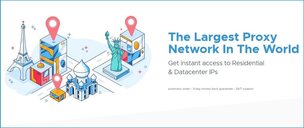 Shifter proxy network