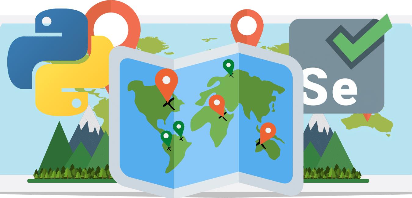Google Map Scraping Using Python
