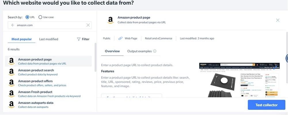 Bright Data Amazon Scraper