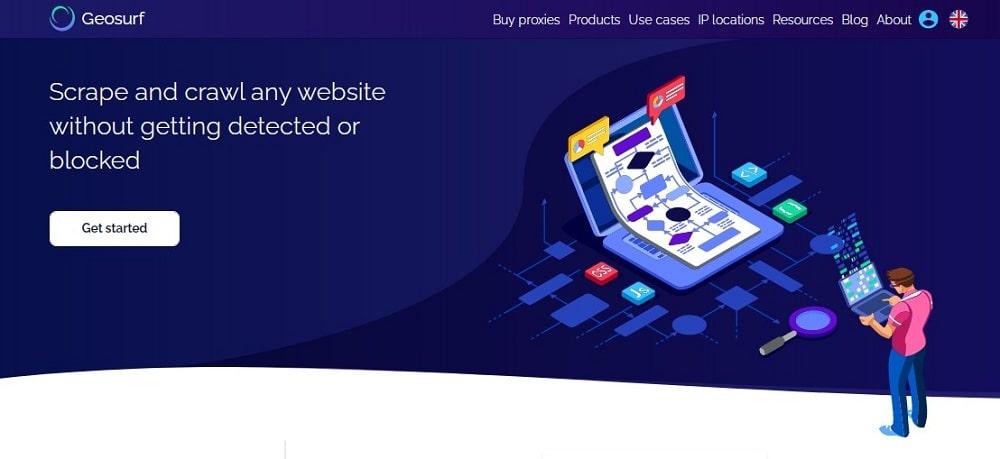 Geosurf Homepage