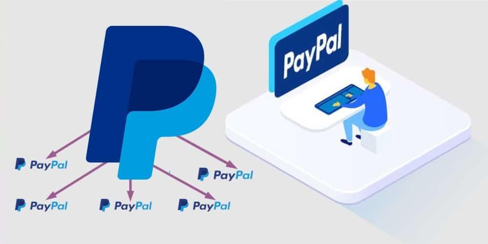 multiple payapl account creation methods