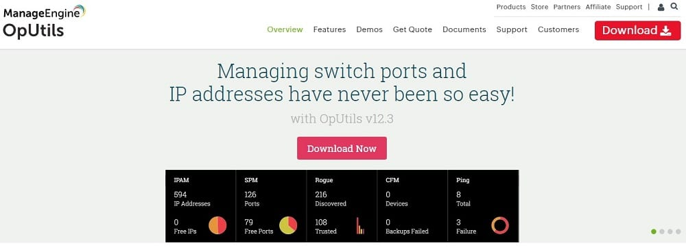 OpUtils Homepage