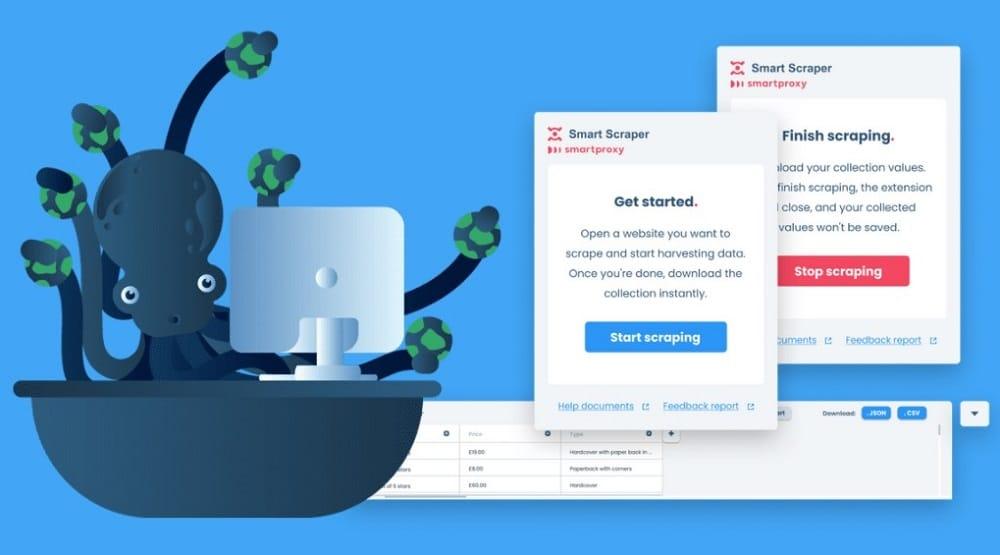 Smart Scraper for web scraping