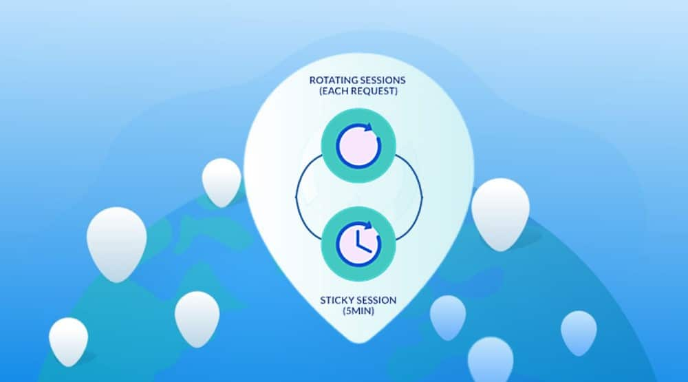sticky and rotating sessions and how they both work