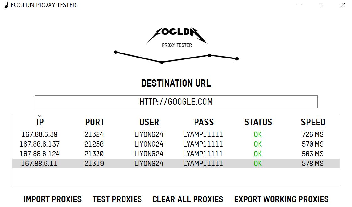 fogldn proxy tester